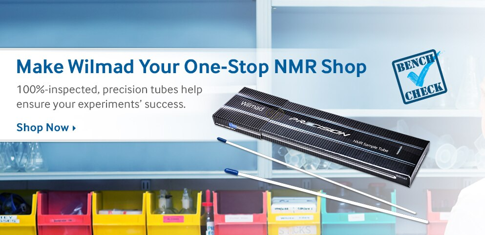 Make Wilmad Your One-Stop NMR Shop