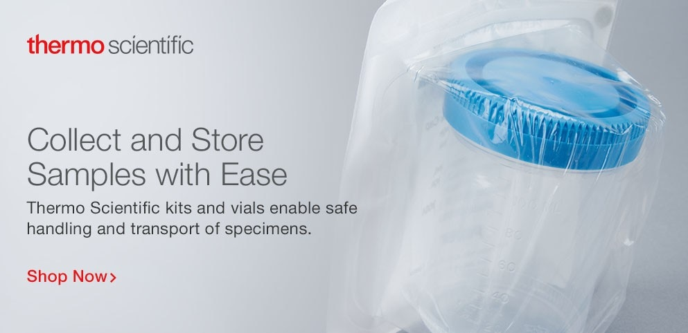 Collect and Store Samples with Eases