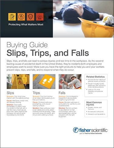 Buying Guide: Slips, Trips, and Falls